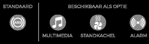 Standaard-en-opties-ABS-MultiMedia-Kachel-Allarm